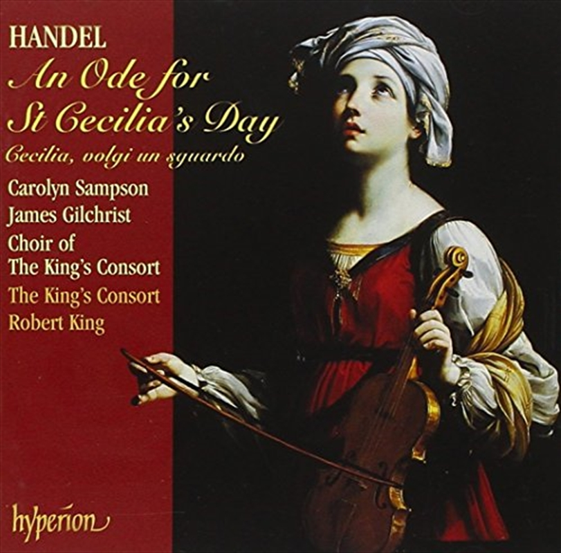 An Ode For St Cecilias Day   CD