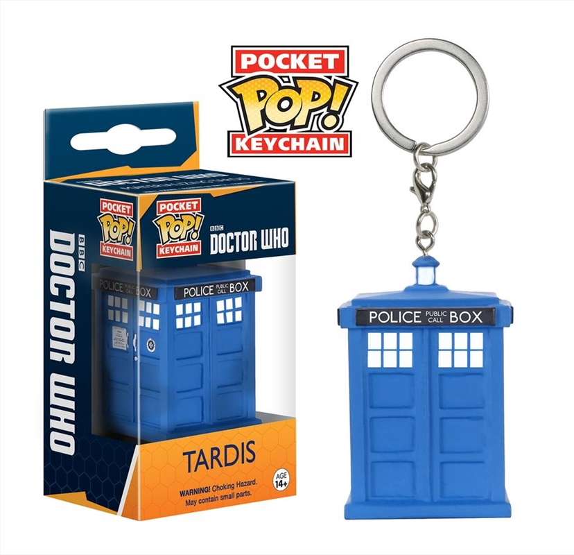 Doctor Who - TARDIS Pocket Pop! Keychain | Accessories