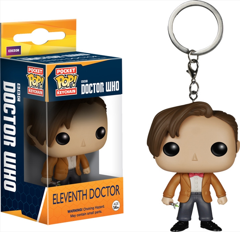 Doctor Who 11th Pop Keychain | Accessories