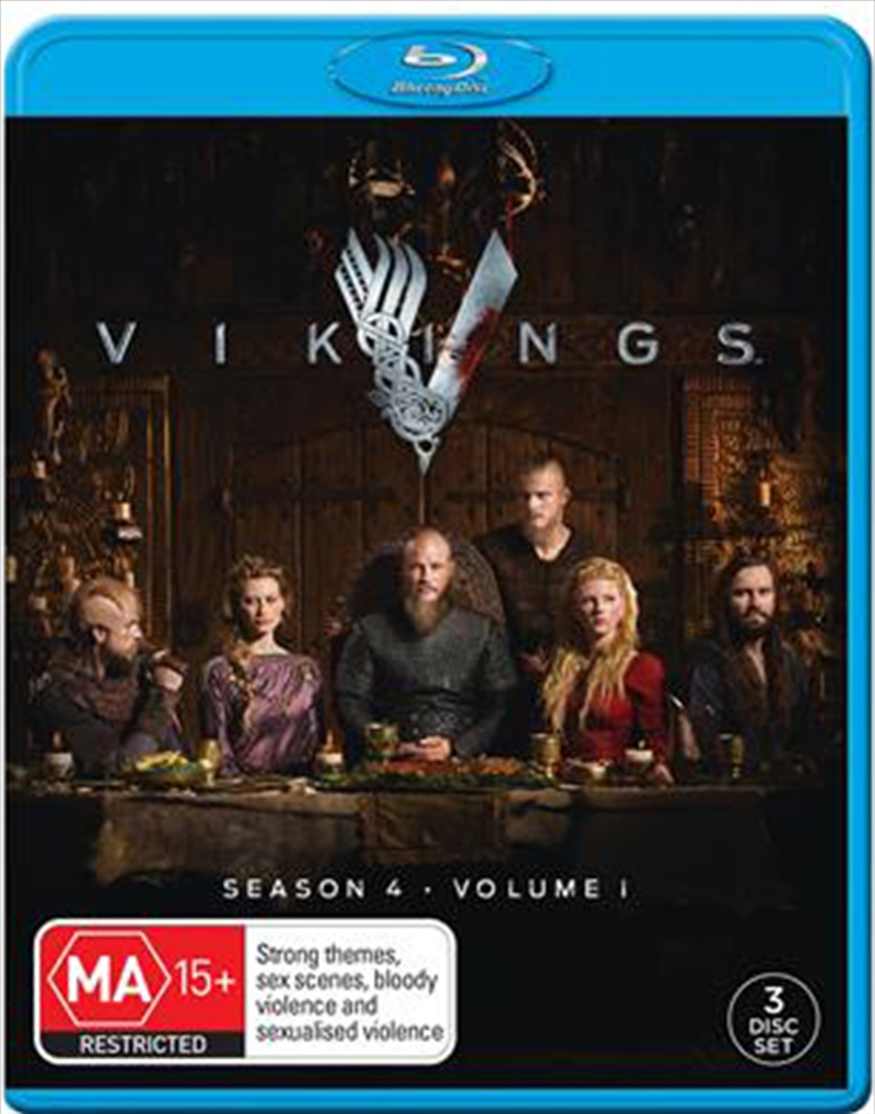 Vikings - Season 4 - Part 1 | Blu-ray