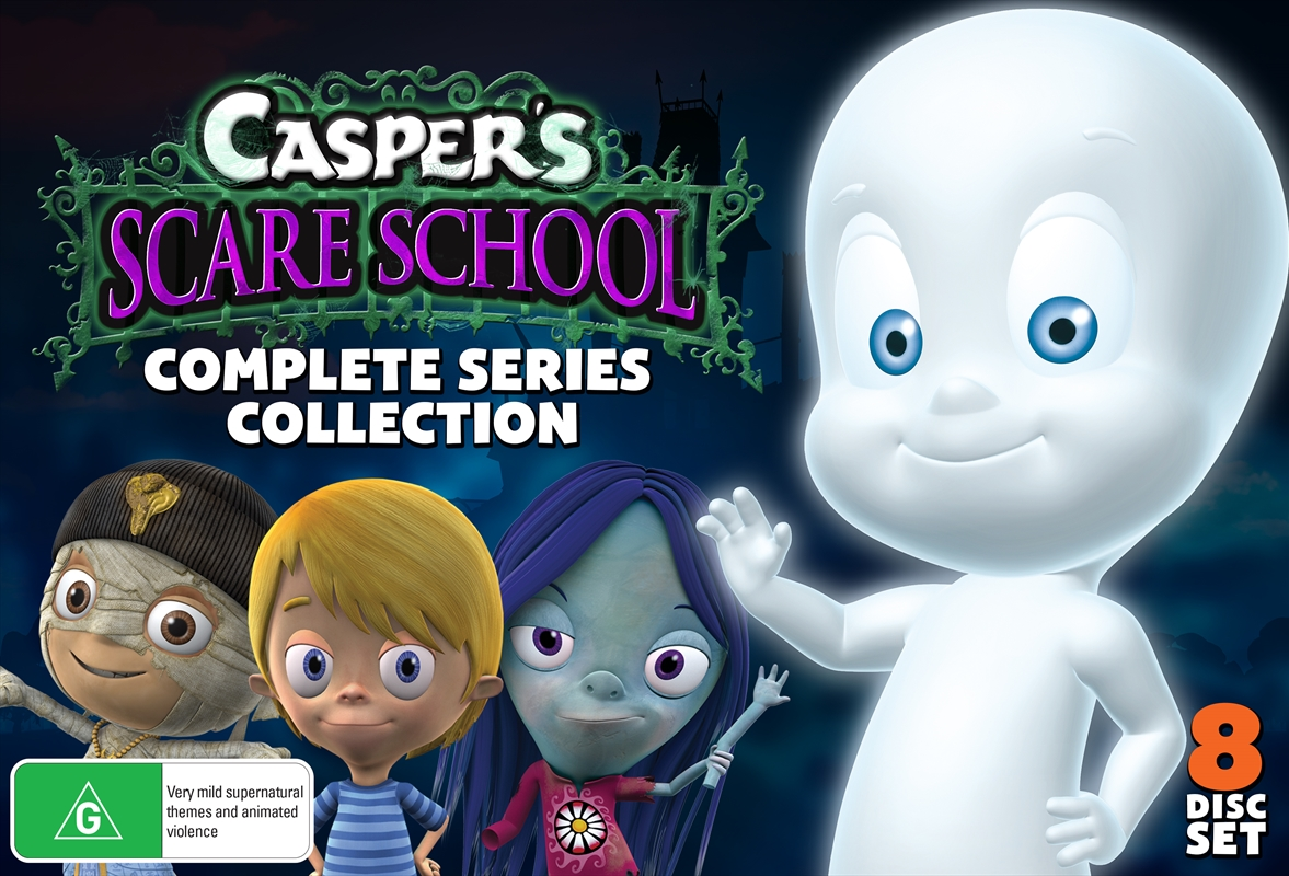 Casper's Scare School - Season 1 & 2 | DVD