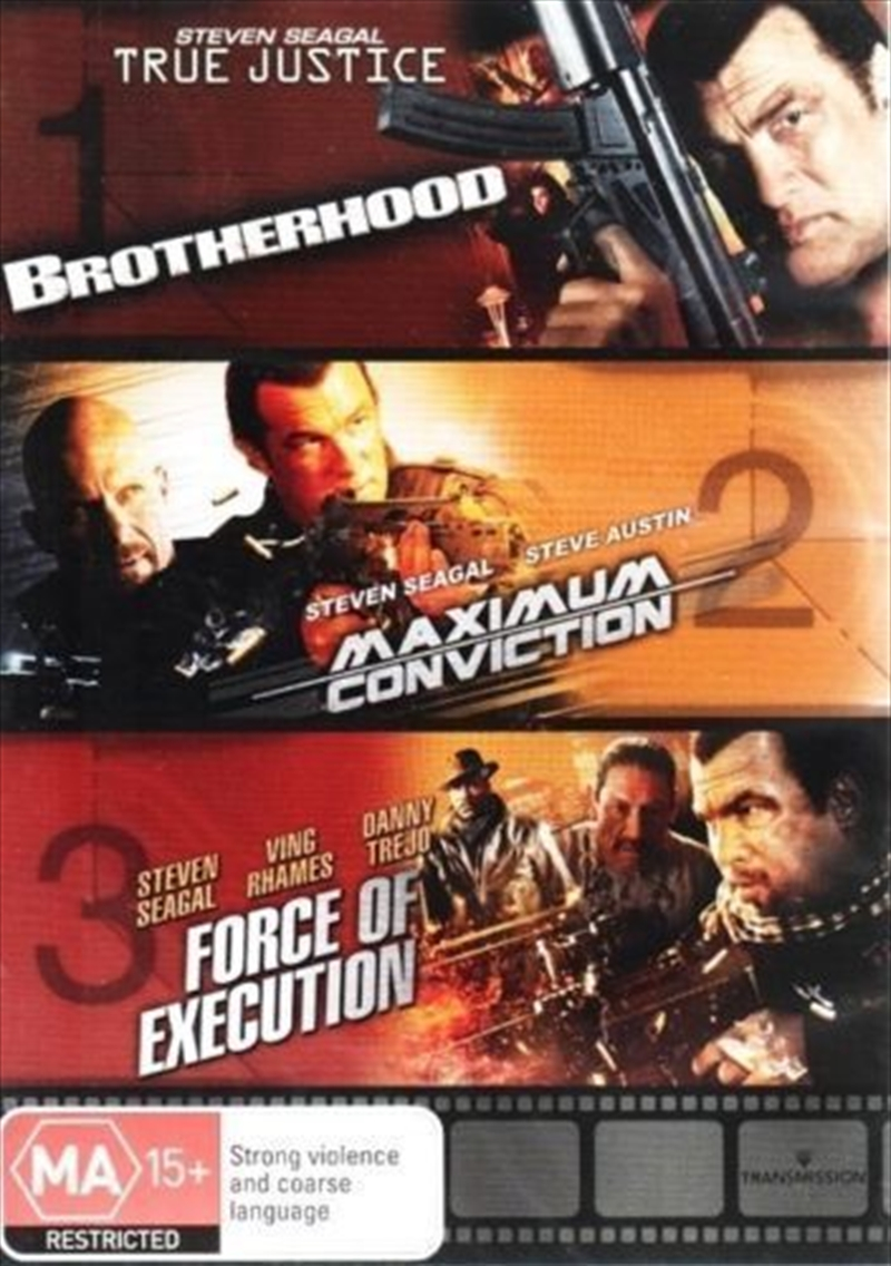 True Justice/Maximum/Force Of | DVD