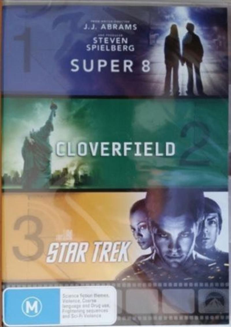 Super 8/Cloverfield/Star Trek | DVD