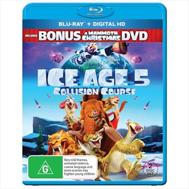 Ice Age: Collision Course: G | Blu-ray