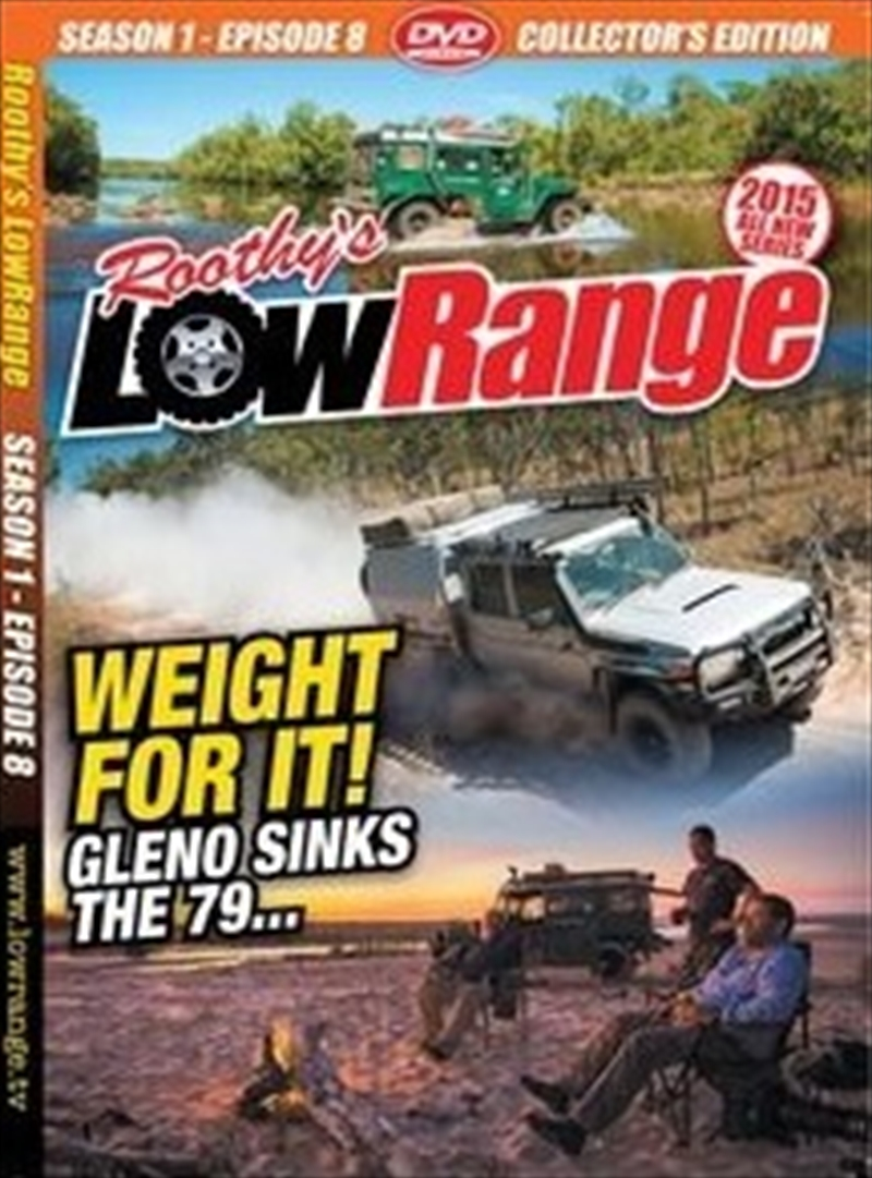 Lowrange: S1 E8: Weight For It | DVD
