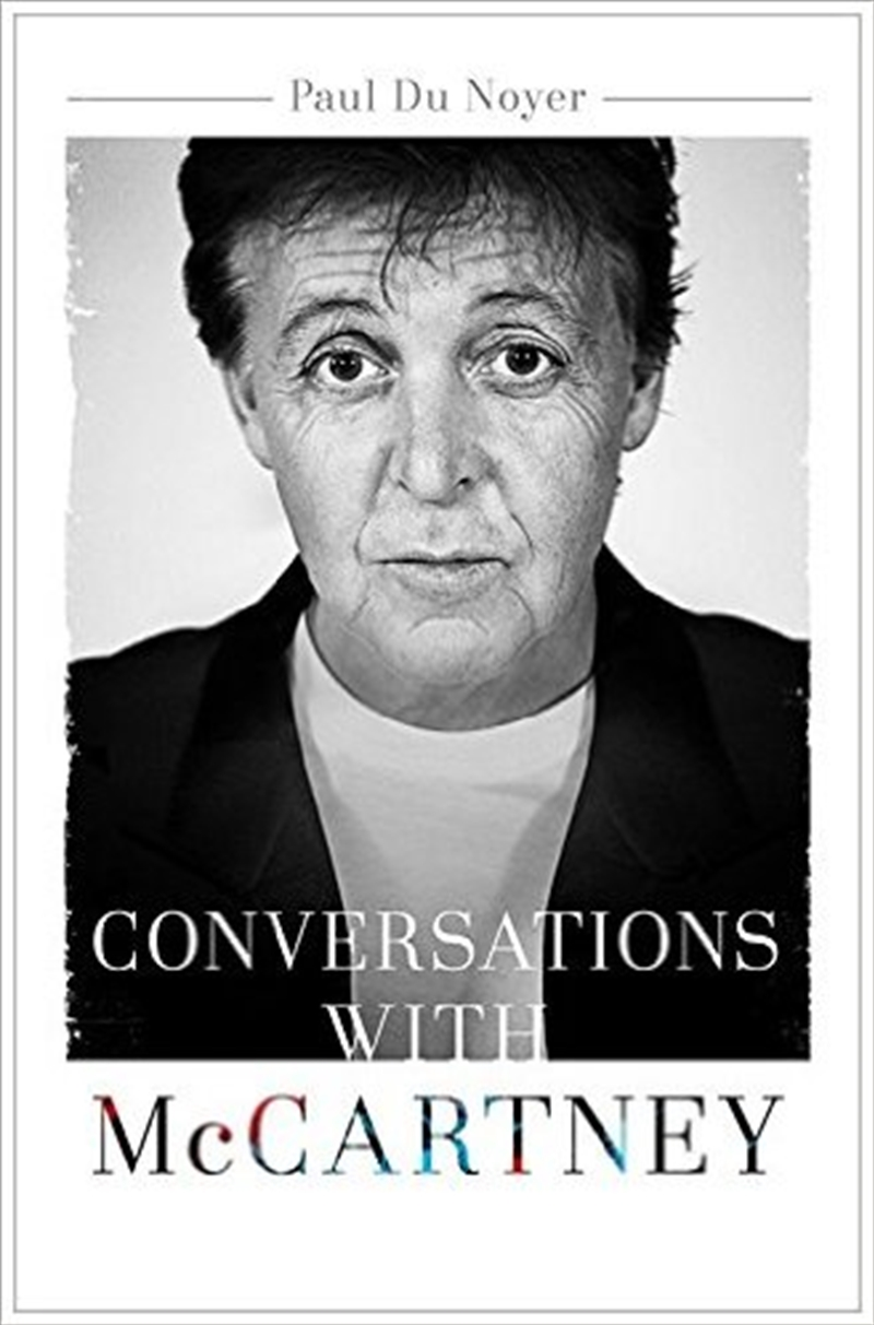 Conversations With Mccartney | Books