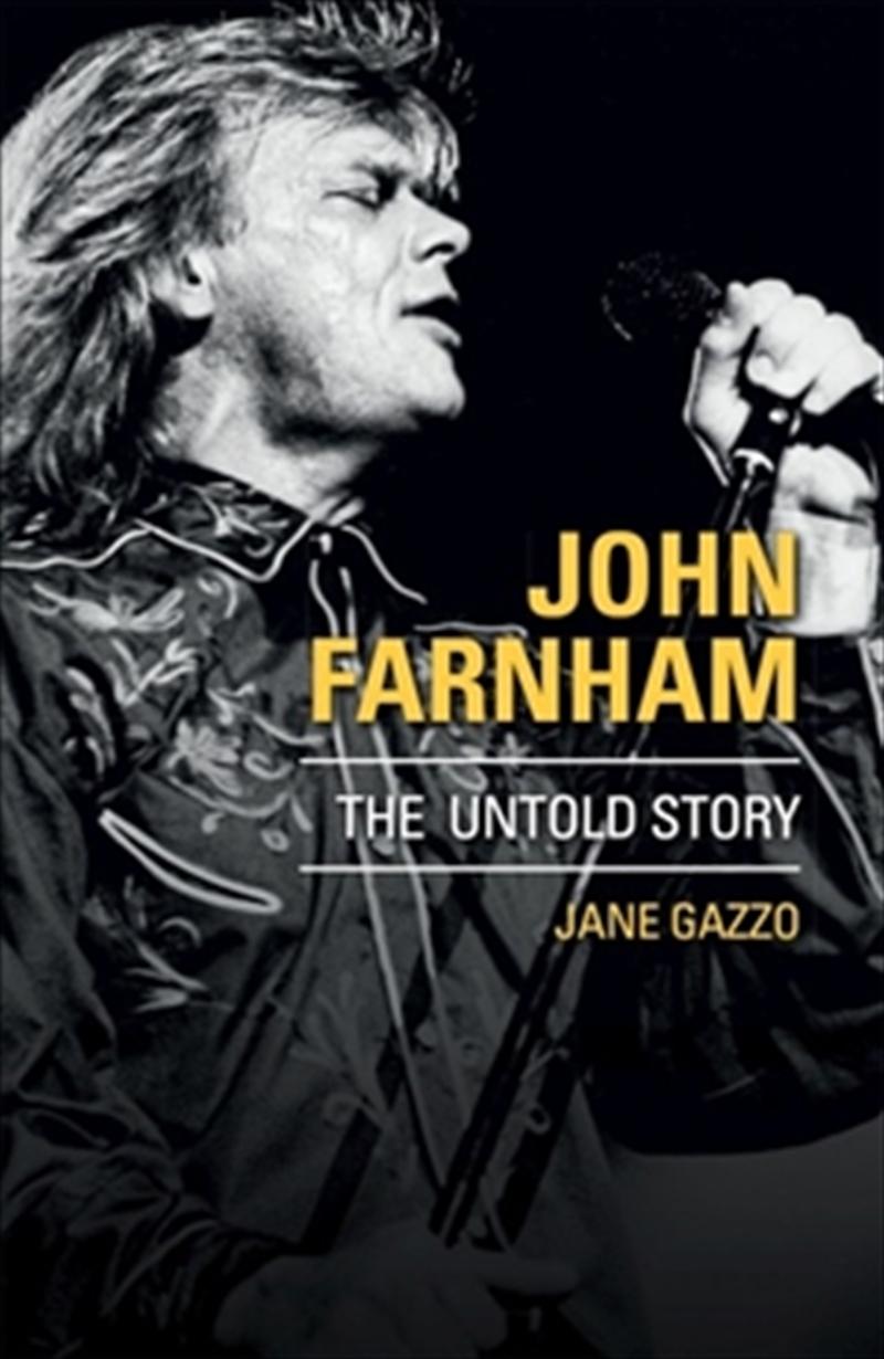 John Farnham   Paperback Book