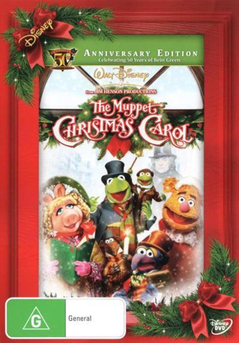 The Muppet Christmas Carol.Muppet Christmas Carol 50th Anniversary Edition