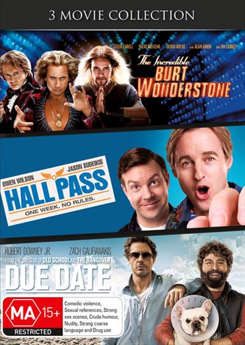 Incredible Burt Wonderstone / Hall Pass / Due Date, The | DVD