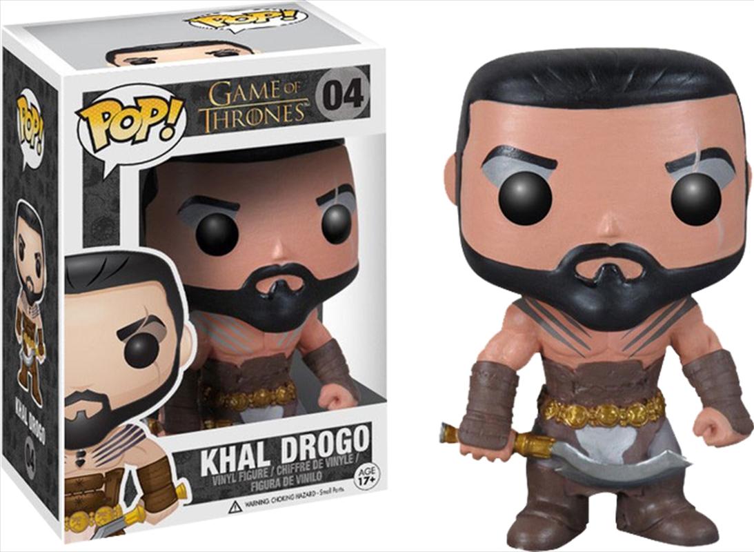 Khal Drogo   Pop Vinyl