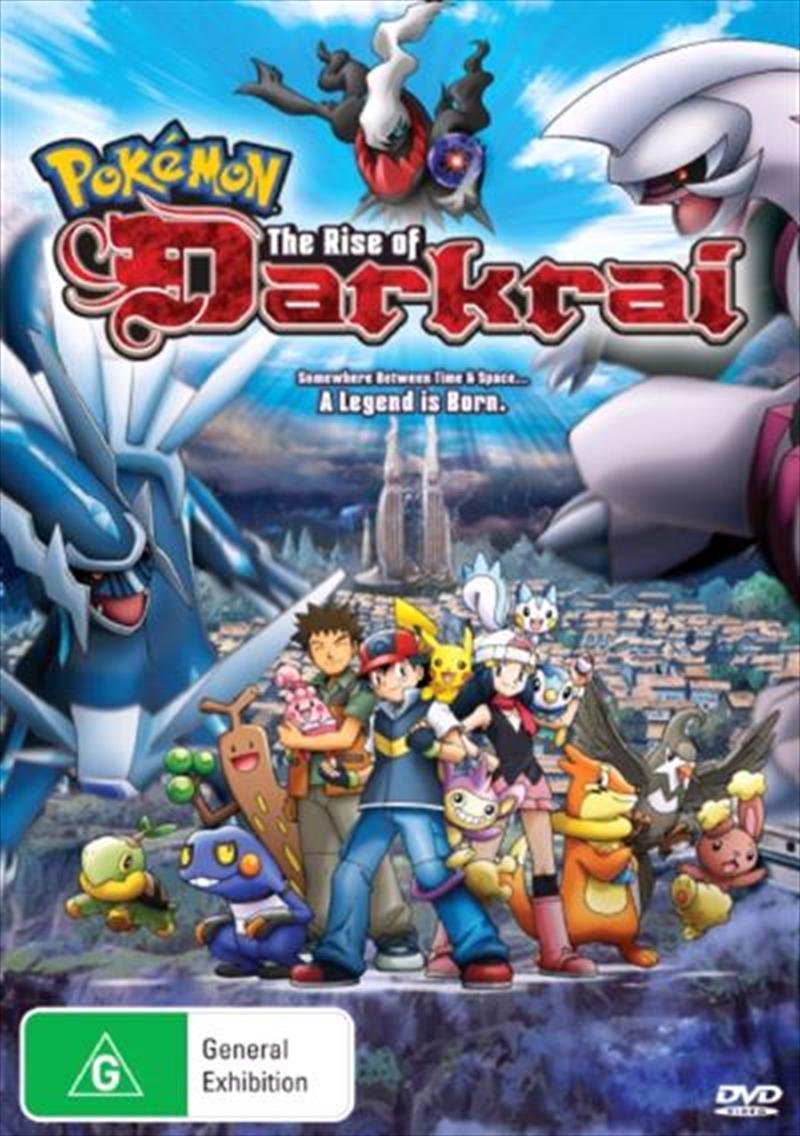 Pokemon - The Rise Of Darkrai - Movie 10   DVD