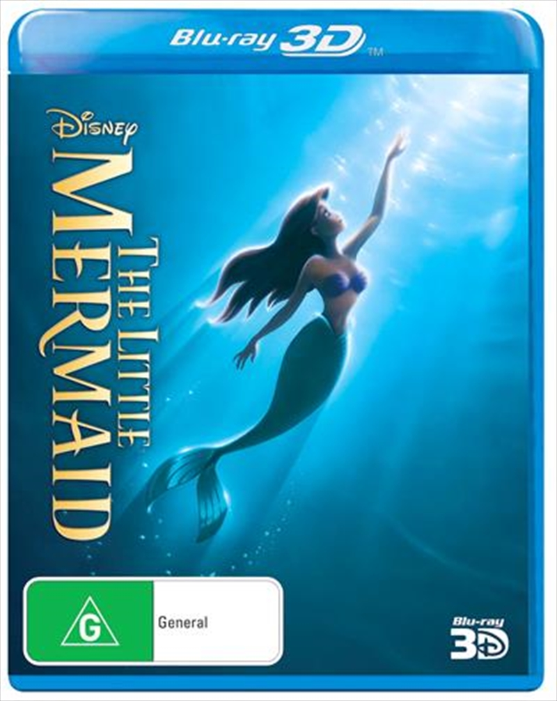 Little Mermaid, The | Blu-ray 3D