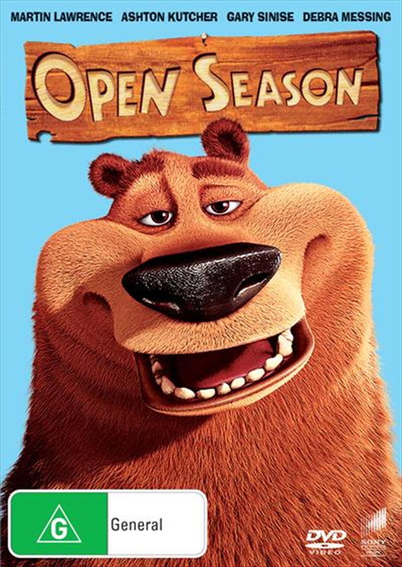 Open Season Big Face | DVD