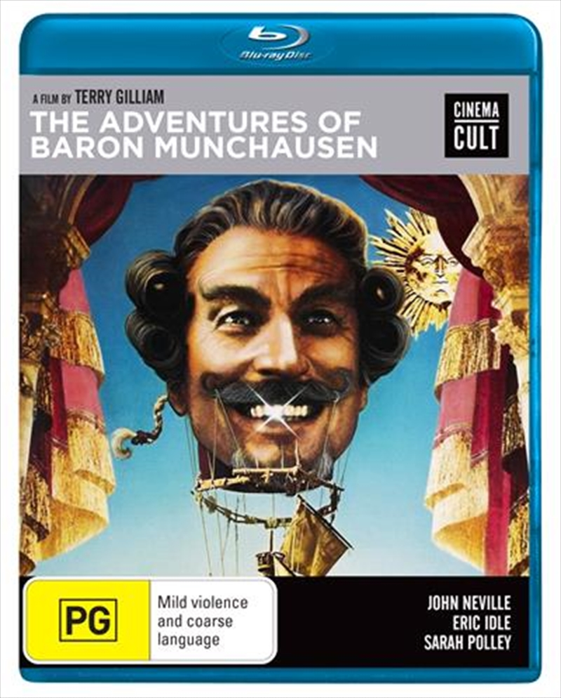 Adventures Of Baron Munchausen   Blu-ray