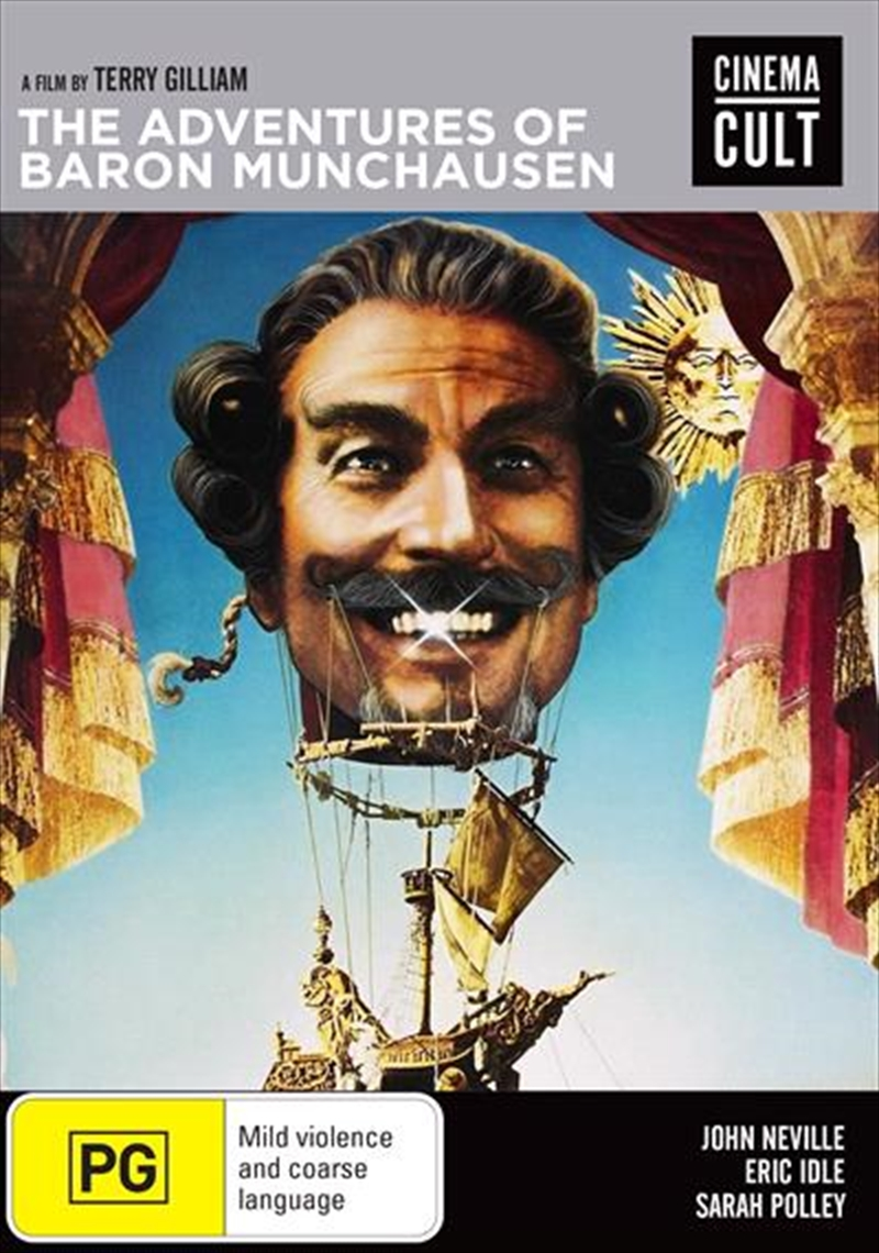 Adventures Of Baron Munchausen | DVD