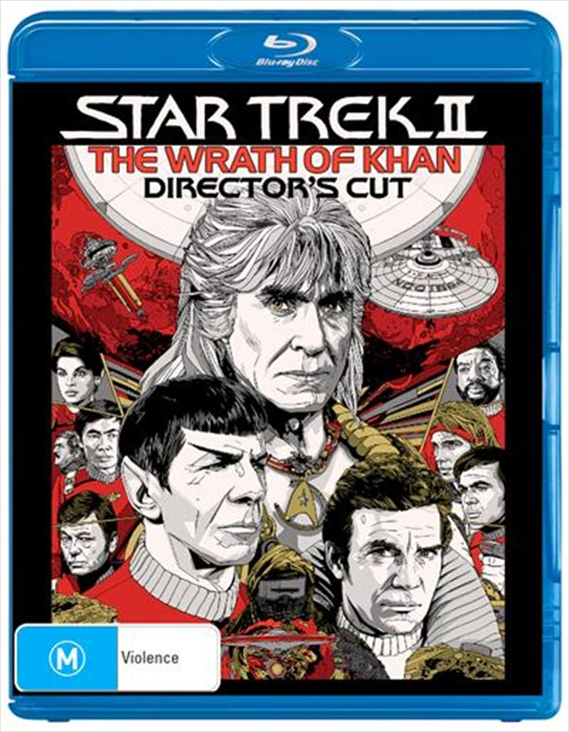 Star Trek 2 - The Wrath Of Khan - Director's Cut Edition | Blu-ray