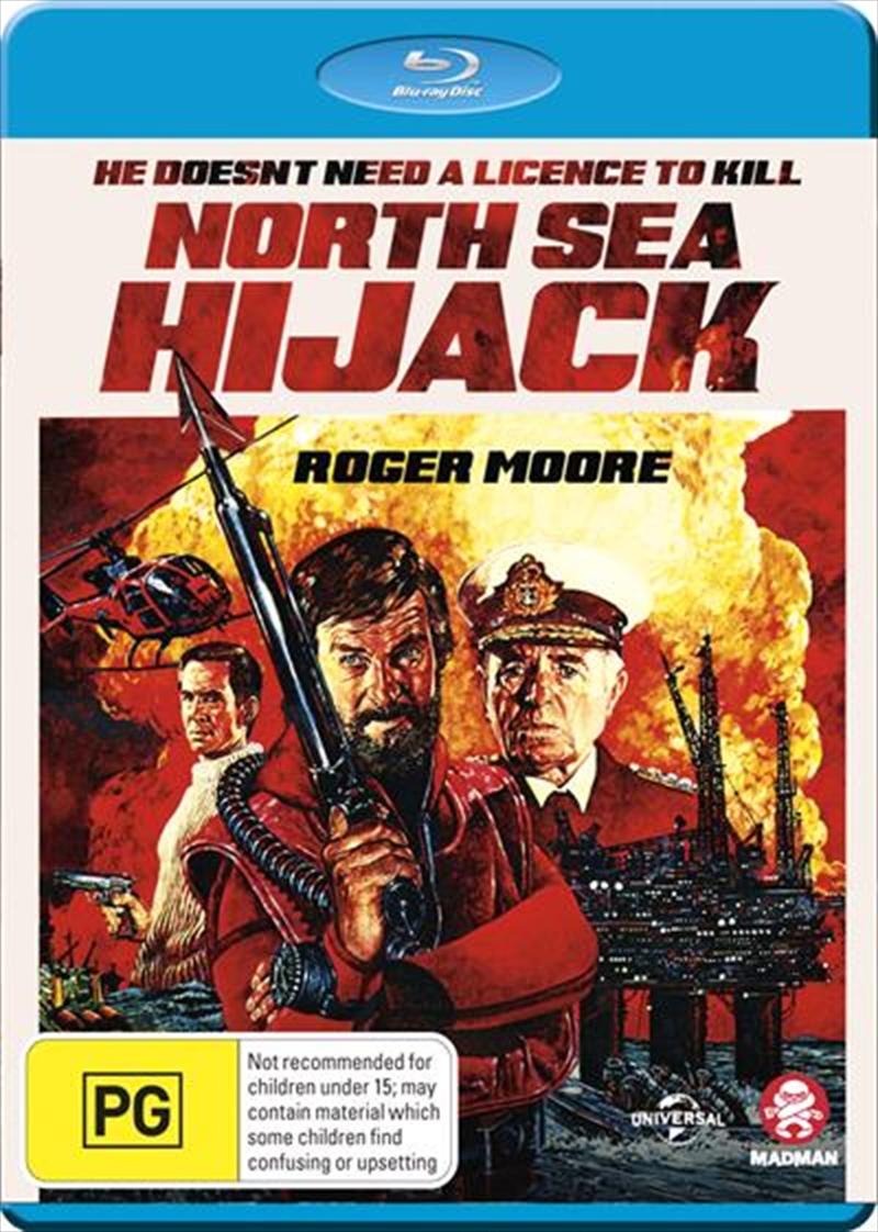 North Sea Hijack Action Blu Ray Sanity