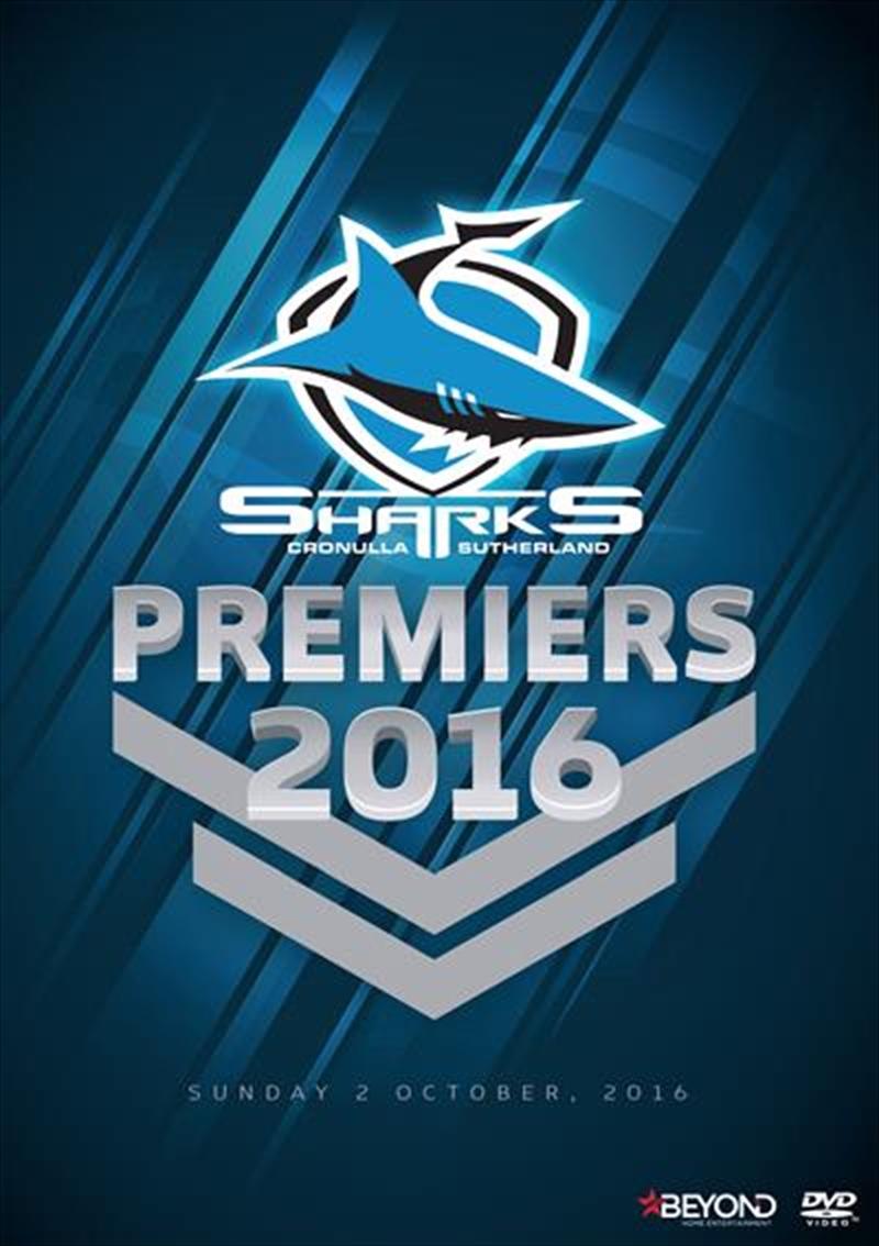 NRL - 2016 Premiers Cronulla Sharks | DVD
