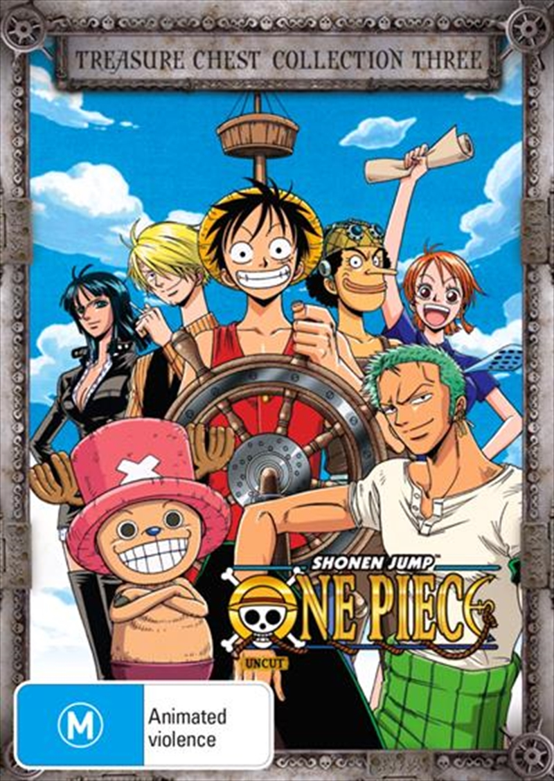 One Piece - Uncut - Treasure Chest - Collection 3