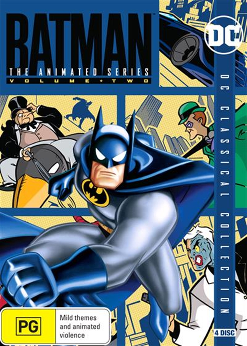 Batman - The Animated Series - Vol 2 | DVD