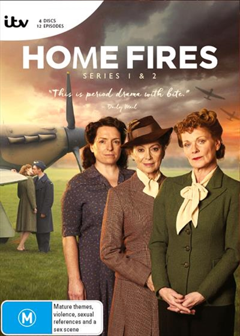 Home Fires - Series 1-2 | Boxset | DVD