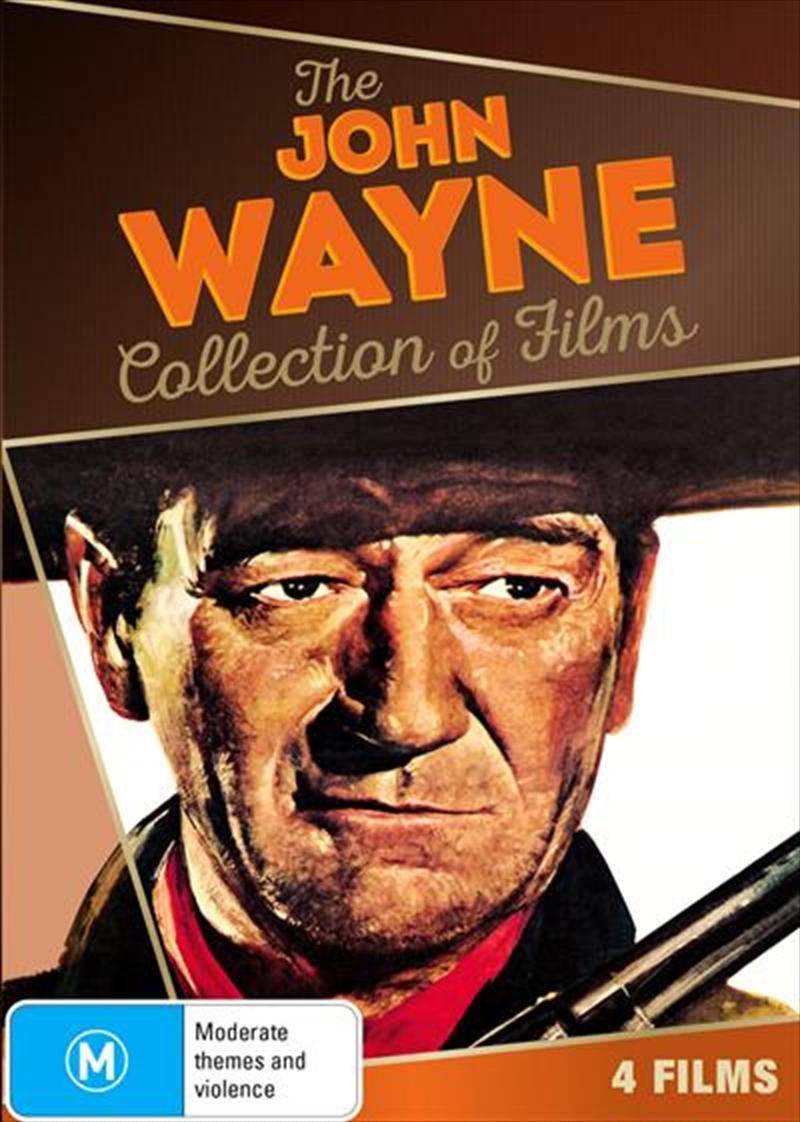 Buy John Wayne Collection On Dvd Sanity