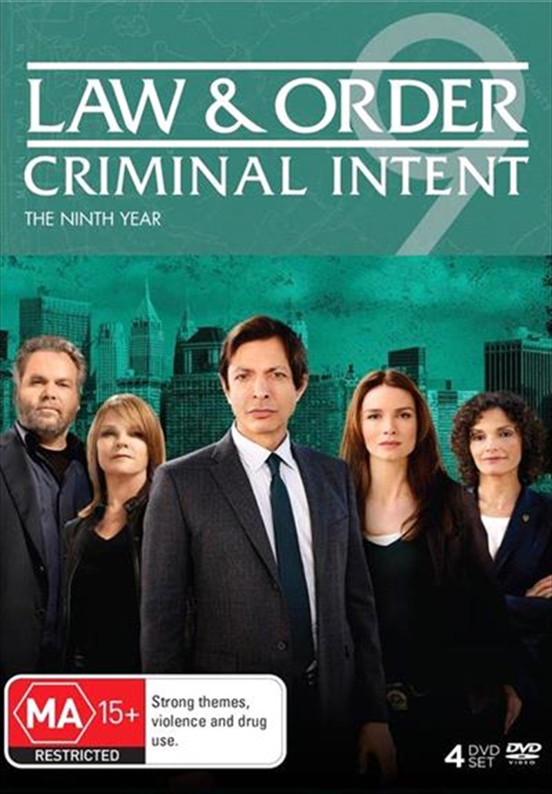 Law And Order - Criminal Intent - Season 9   DVD