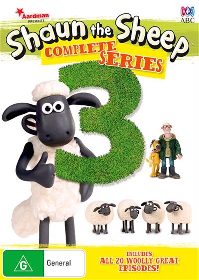 Shaun The Sheep - Season 3 | DVD