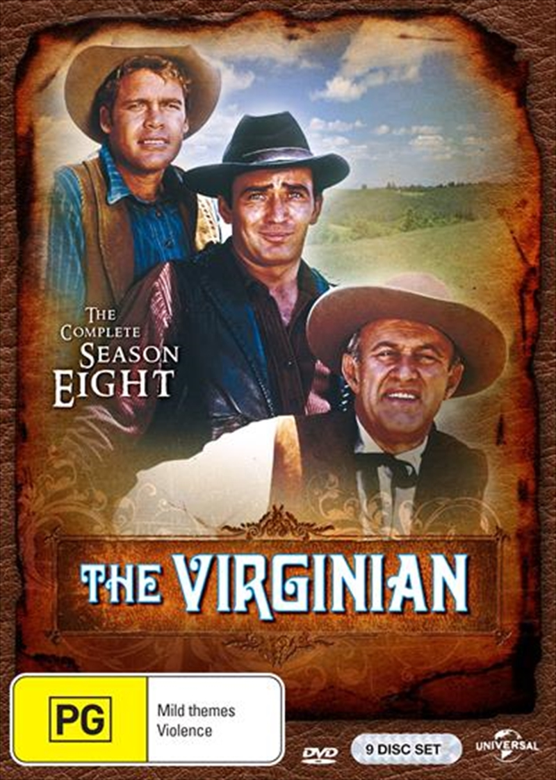 Virginian - Season 8, The | DVD