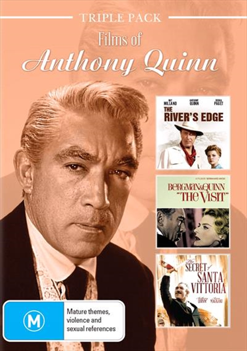 Anthony Quinn Triple Pack | DVD