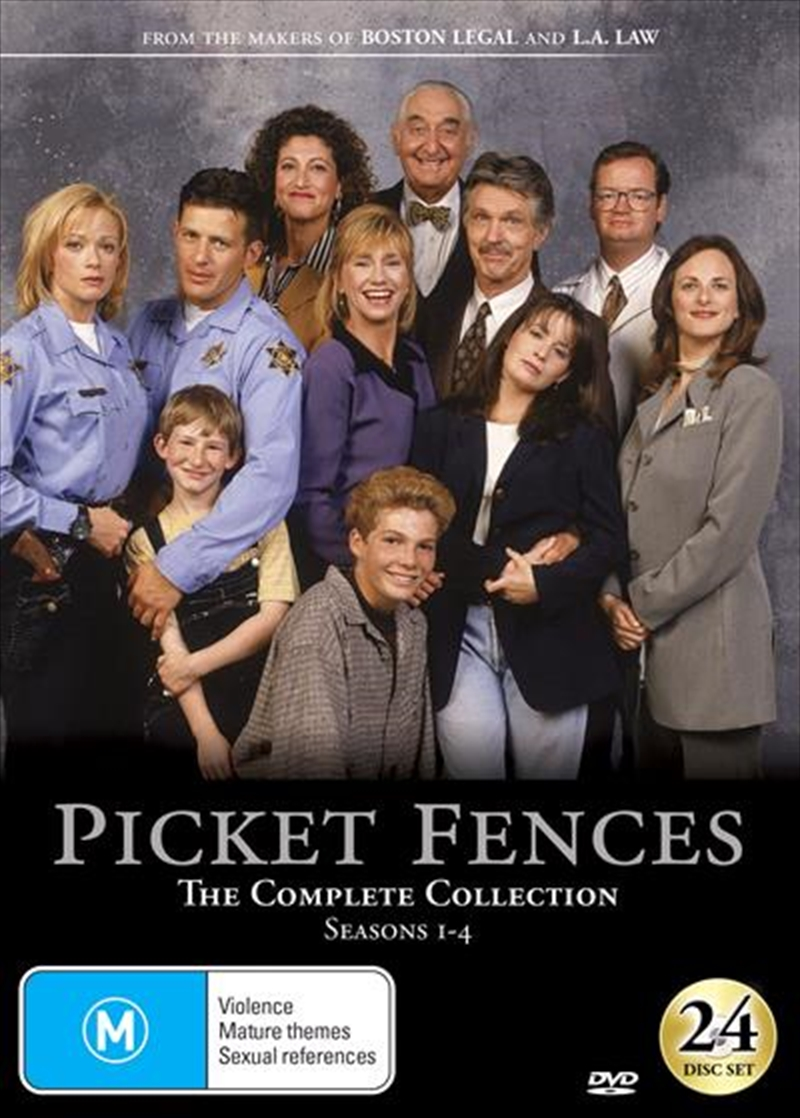 Buy Picket Fences Series Collection On Dvd Sanity Online