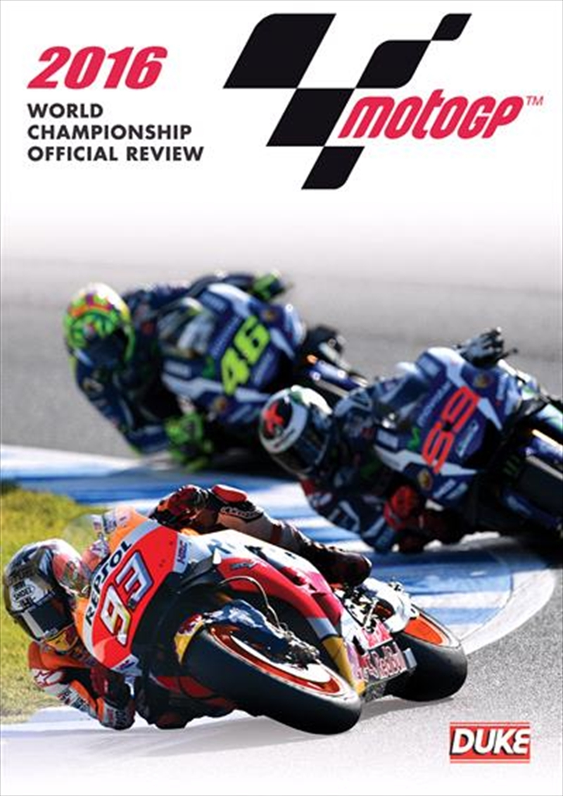 2016 MotoGP World Championship Review | DVD