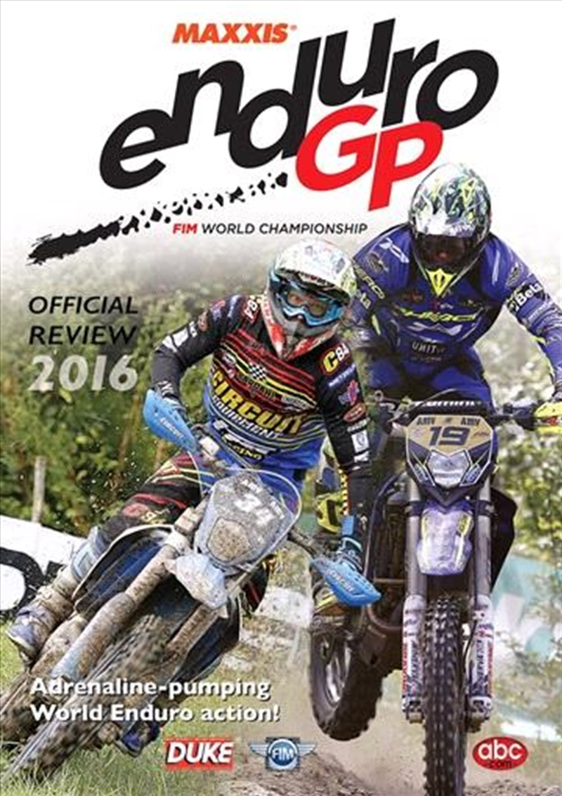 2016 World Championship Enduro Review | DVD