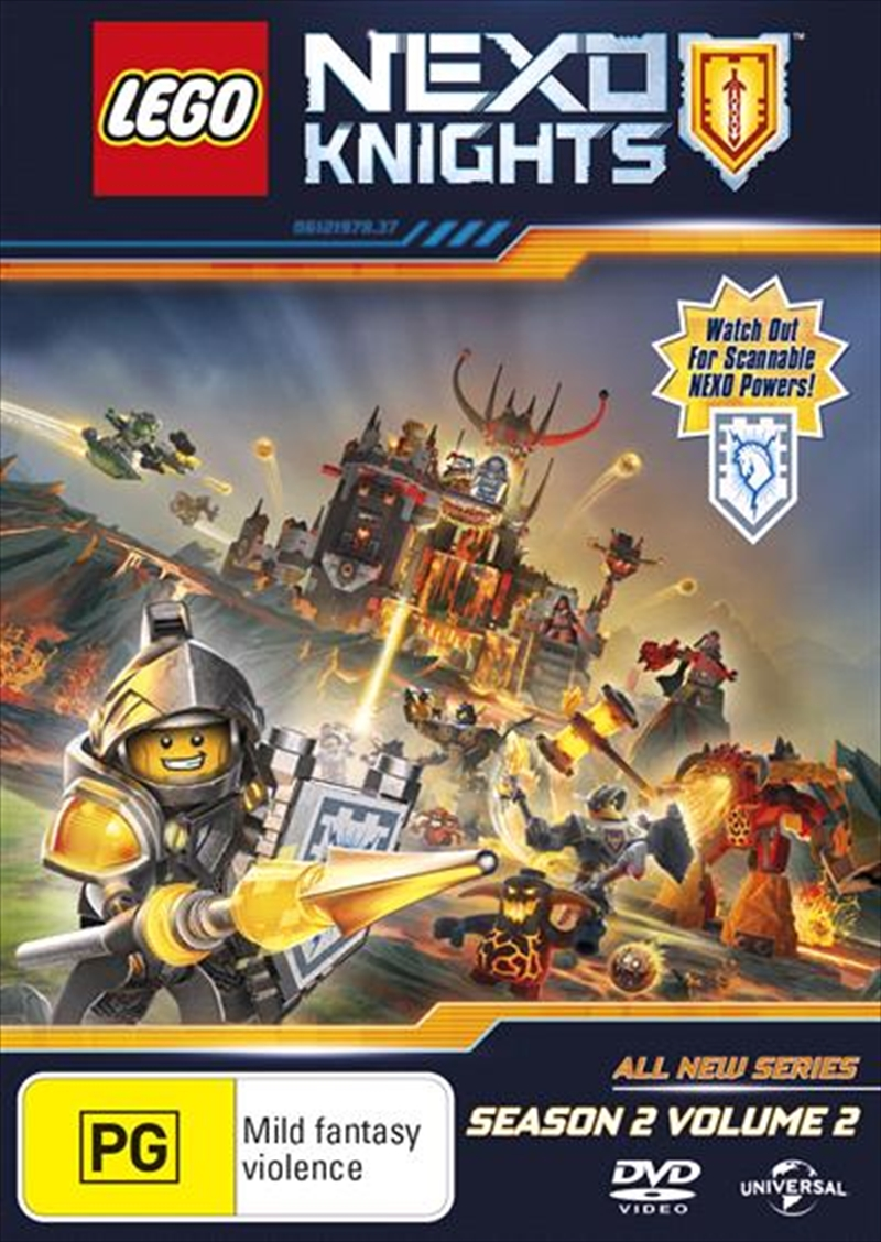 Lego Nexo Knights - Season 2 - Vol 2 | DVD