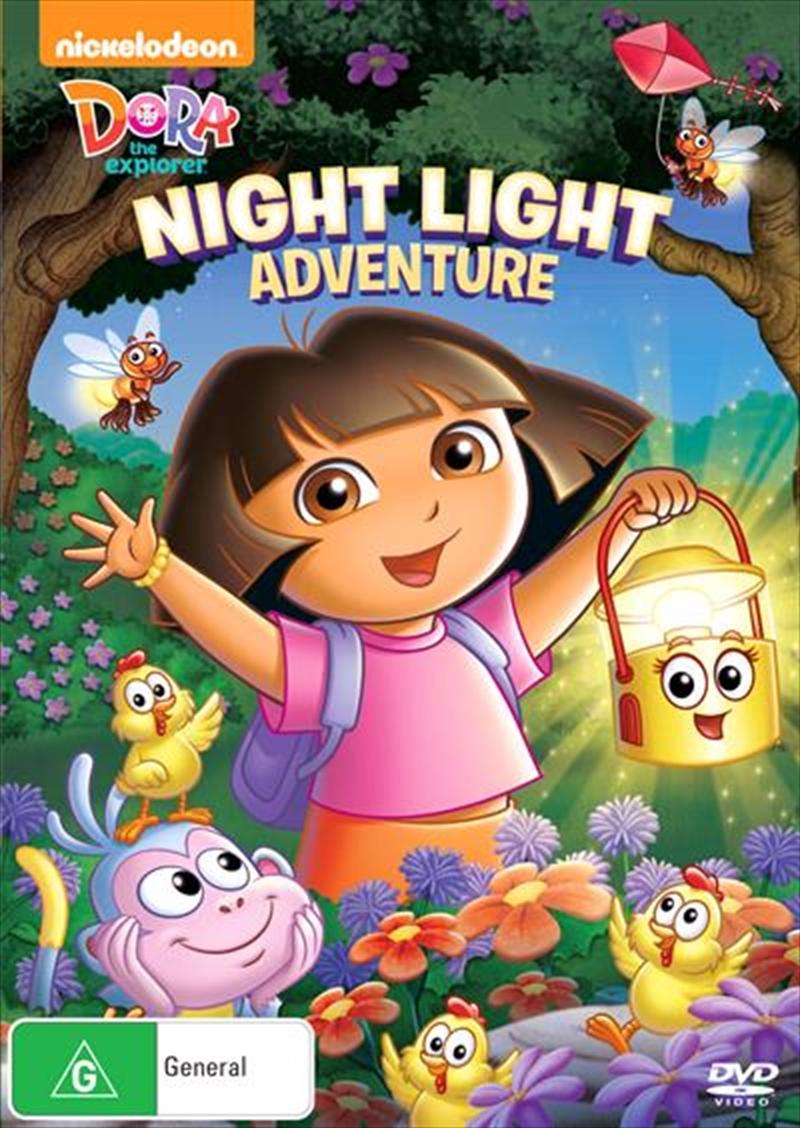 Dora The Explorer - Night Light Adventure   DVD