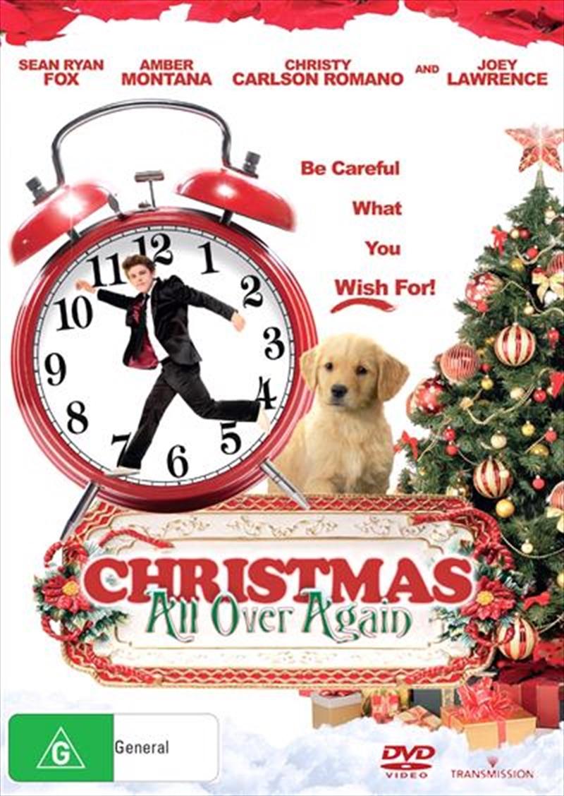 Christmas All Over Again | DVD