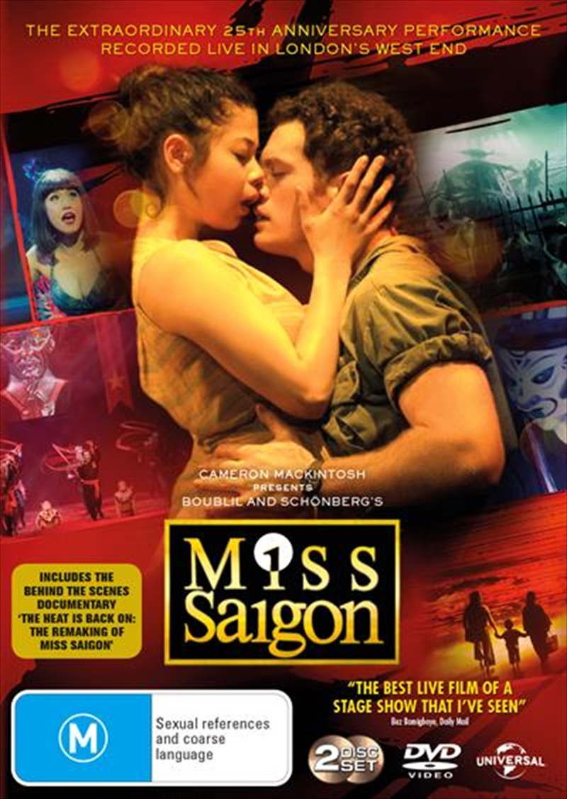Miss Saigon - Live | DVD