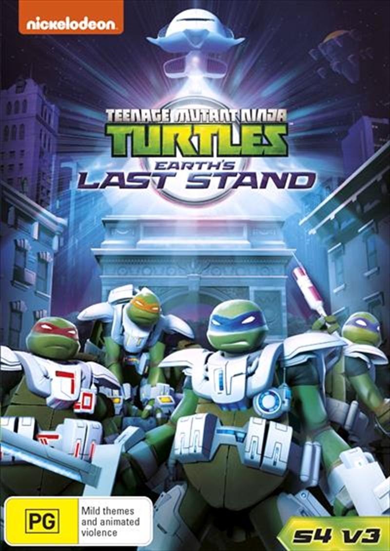 Teenage Mutant Ninja Turtles - Earth's Last Stand - Season 4 - Vol 3   DVD