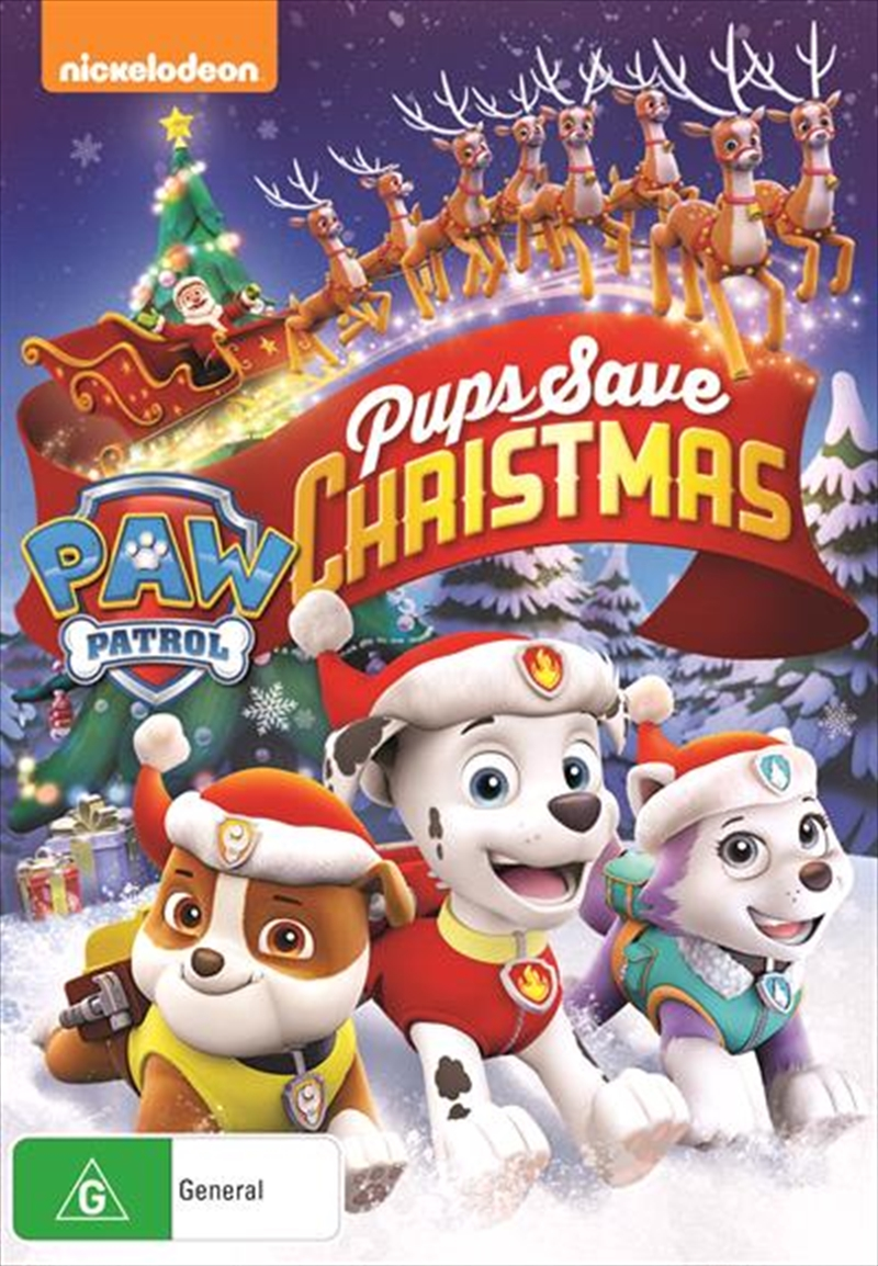 Paw Patrol - Pups Save Christmas | DVD
