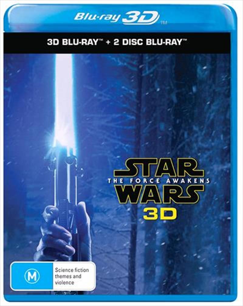 Star Wars 7 3d Bluray