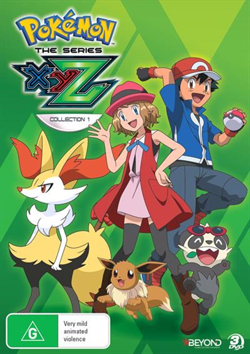Pokemon The Series - XYZ - Collection 1 | DVD