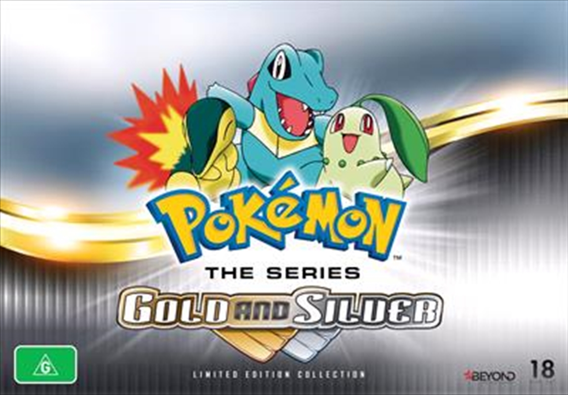 Pokemon Gold And Silver | Collector's Gift Set | DVD