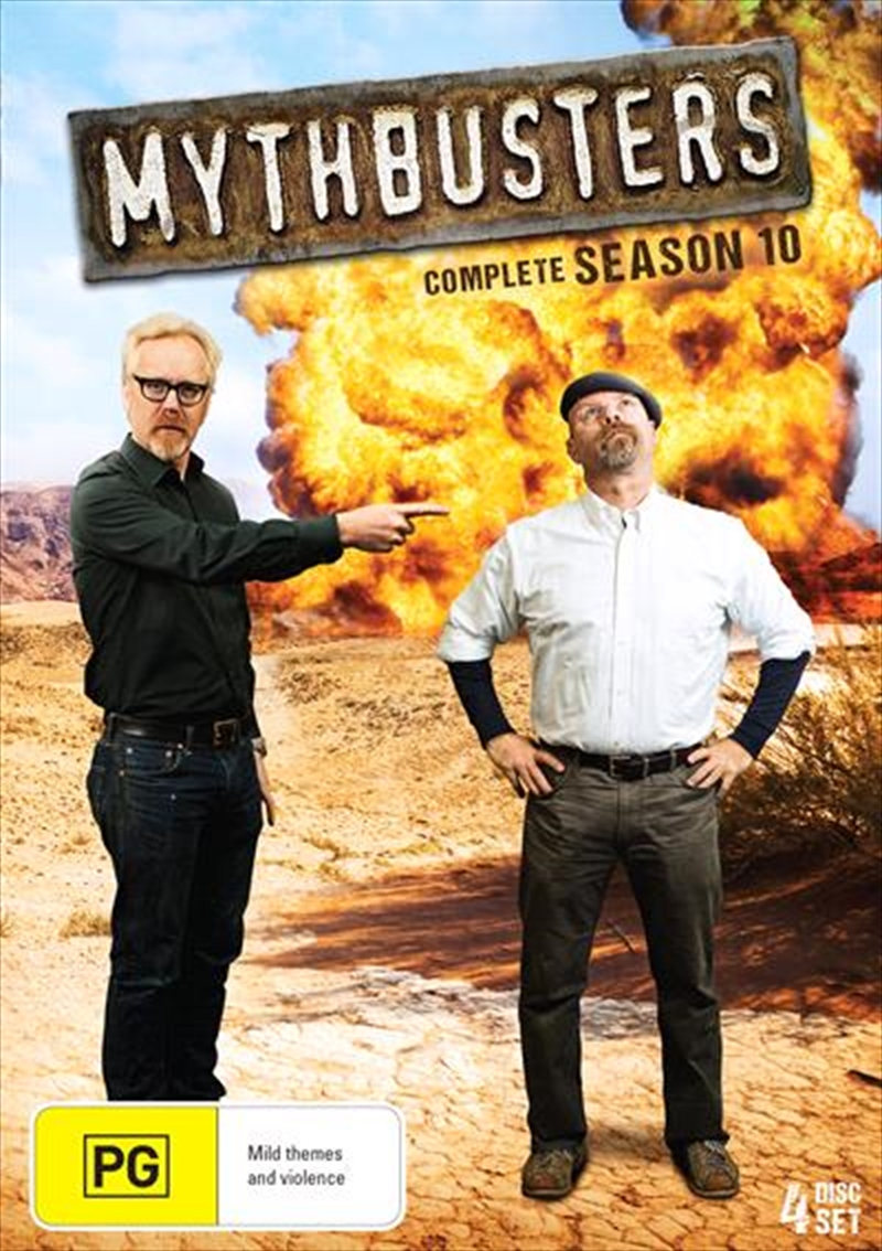 Buy Mythbusters Season 10 On Dvd Sanity Online