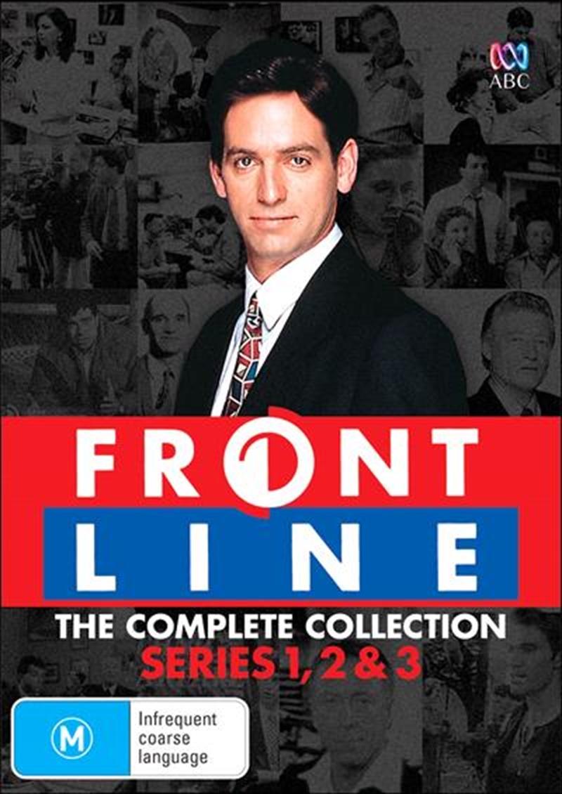 Frontline - Series 1-3   Boxset   DVD