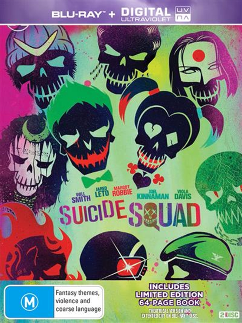 Suicide Squad - Limited Edition | UV - Digibook