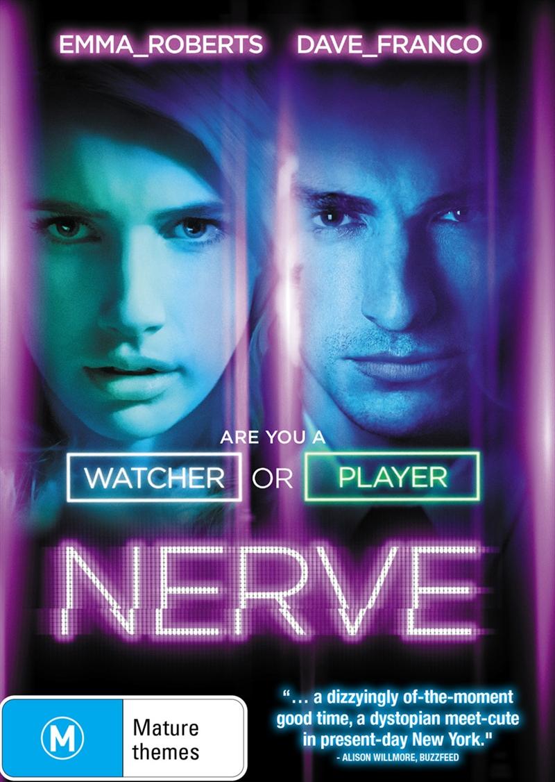 Buy Nerve On Dvd Sanity Online