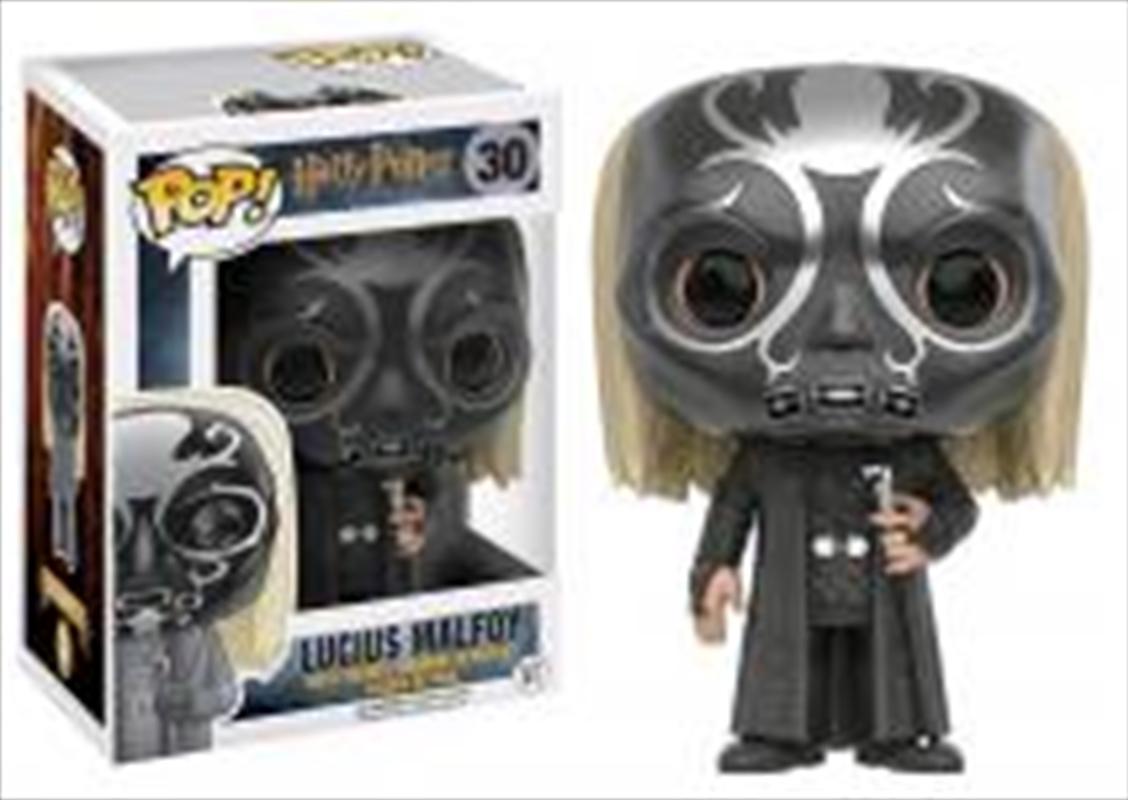 Harry Potter: Lucius As Death Eater   Pop Vinyl
