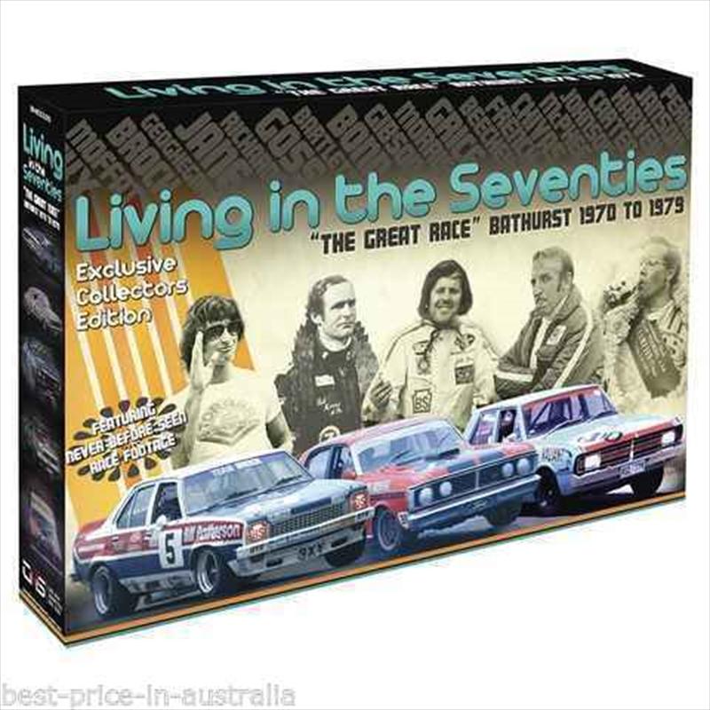 Living In 70s: The Great Race: Bathurst 1970 - 79 | DVD