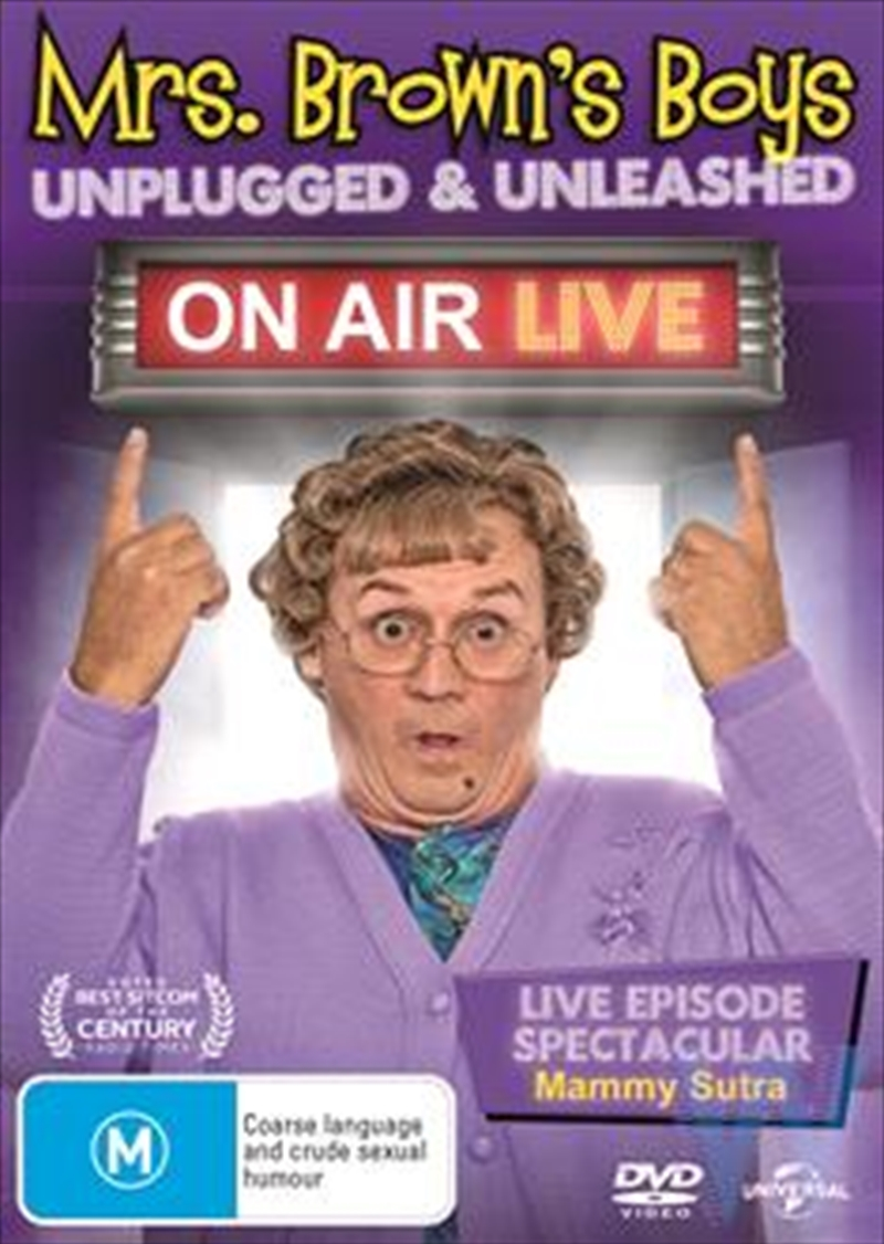 Mrs. Brown's Boys - On Air Live | DVD