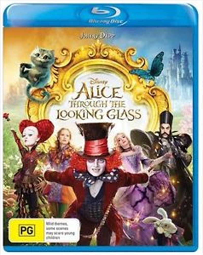 Alice Through Looking Glass | Blu-ray